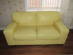 Beautiful leather Sofa cheap sale