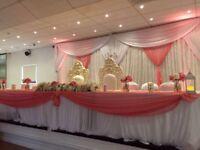 Competitive event decoration / wedding decorator