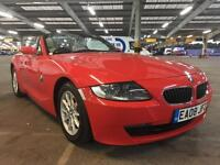 2008 BMW Z4 2.5i ROADSTER CONVERTIBLE 62K LOW MILES! 1 LADY OWNER! SAT NAV! FSH!