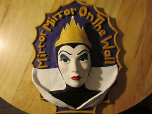 Dinsey SNOW WHITE Wicked Evil Queen Grimhilde 1ofAKind Clay Art
