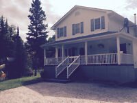 Beautiful 2 story house with acreage in French River!
