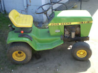 SOLD !! John Deere Lawn Tractor 111 PRICED TO SELL! SOLD SOLD!!!