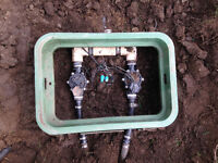 Irrigation system service and install