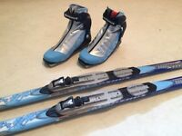New high end skate skis and boots