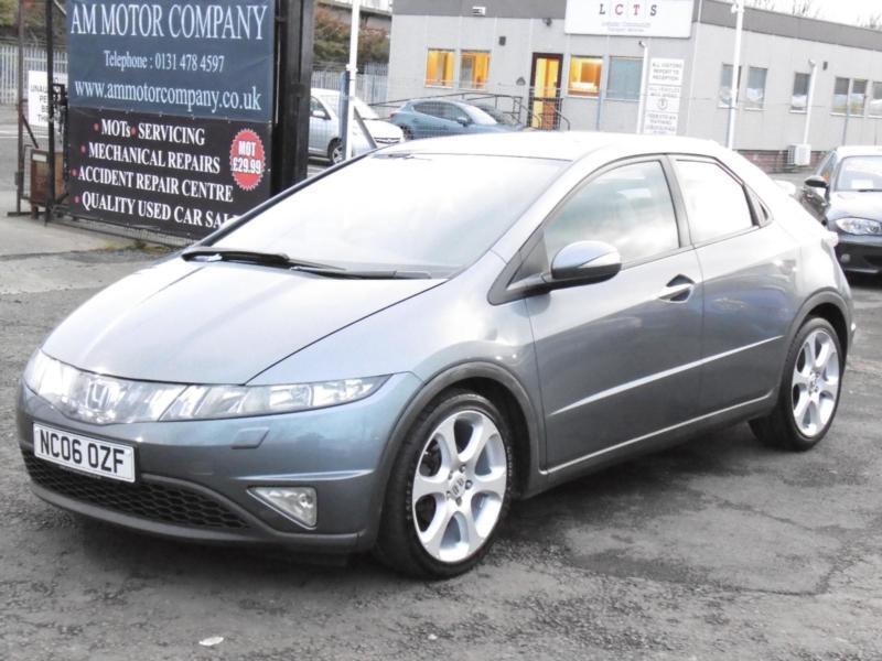 Honda Civic 1.8i-VTEC ( 18in Alloys ) Sport, Grey, 2006, 3 Months Warranty