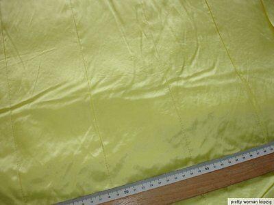 0,5 Laufmeter Steppstoff 2,93€/m², Steppfutter gelb zweilagig LB22
