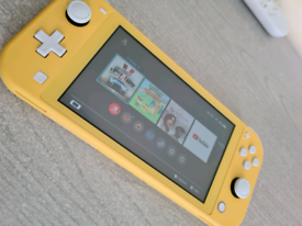 Nintendo switch lite handheld console mint condition