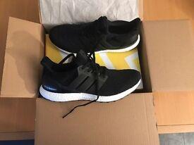 Adidas Ultra Boost 3.0 Black UK 8 Brand New In Box