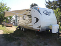 2012 Cougar travel trailer 21 RBSWE