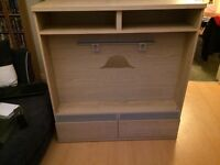 Flat screen TV unit