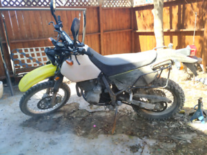 project bike dr 650 needs engine cover to start