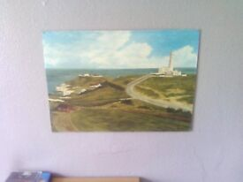a lovely oil on board east coast of england bid in this picture its not free thankyou.