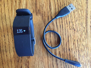 Fitbit Charge HR - Brand New Black Small Band