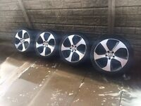 VW GOLF GTI ALLOYS WHEELS MK7 GTI