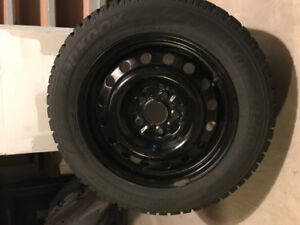 Selling 4x  Hankook  Winter Tires with Rims 205/60R16