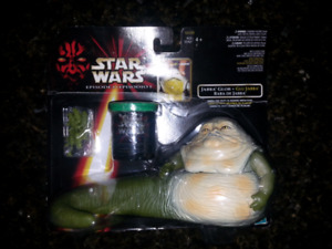 Star Wars Episode 1, Jabba the hunt, Jabba glob, jabba slime
