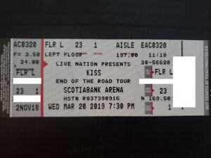 REDUCED !!!END OF THE ROAD TOUR - 4 Floor Seats - Mar 20