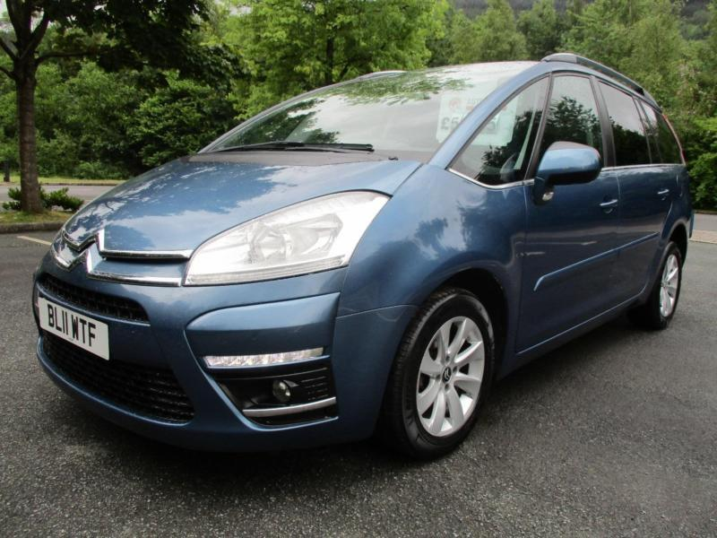 Citroen C4 Grand Picasso Grand VTR Plus HDi DIESEL MANUAL 2011/11