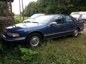 Fully Loaded 1996 Caprice Classic 5.7L V8, open to offers