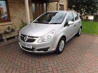 2008 Vauxhall Corsa 1.2i 16v ( a/c ) Life 5 Door Superb condition 61000 Miles