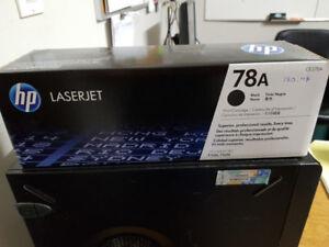 HP Laserjet 78A Toner $60