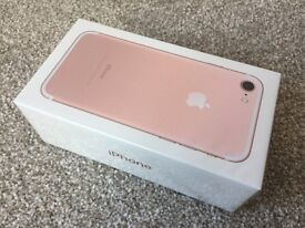 Apple iPhone 7 256gb Brand new sealed