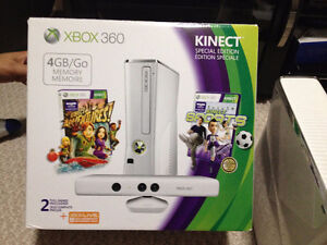 XBOX 360 KINECT WITH GAMES AND CONTROLLER Cambridge Kitchener Area image 2