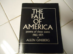 ALLEN GINSBERG THE FALL OF AMERICA CITY LIGHTS 1976