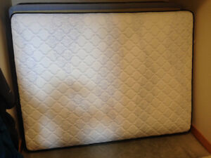 Queen Sears Canterbury ll Tight top Mattress and box Spring