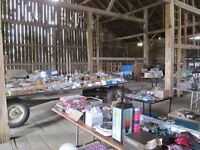 Huge Garage Sale, downsizing after 60 years