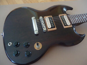 Gibson SG Special in Translucent Ebony