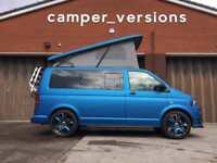 Volkswagen T5 Transporter Campervan 2015 | Tailgate | 65k miles | Electric Blue