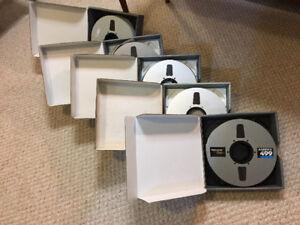 """AMPEX 2"""" Studio Recording Tape"""