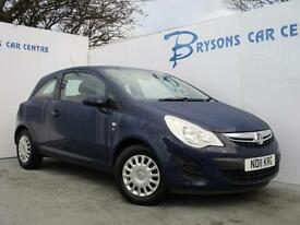 2011 11 Vauxhall Corsa 1.0i 12v (65ps) ecoFLEX S for sale in AYRSHIRE
