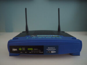 LINKSYS Broadband Wireless-G Router