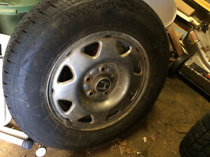 5 tires on rims 205 70 R 15 - now reduced by $200 St. John's Newfoundland image 2