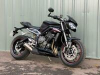 TRIUMPH STREET TRIPLE RS HYPER NAKED MOTORCYCLE