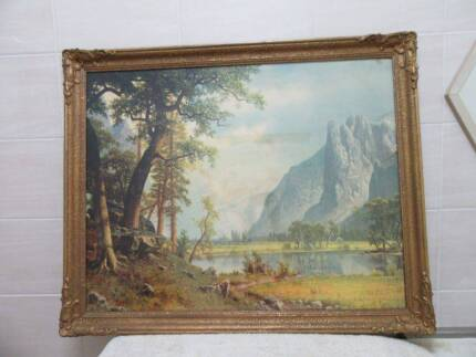 Golden Chinese Picture in Frame | Picture Frames | Gumtree Australia ...