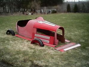 1927 Bugatti replica and ford frame