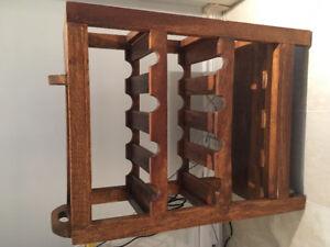 Cellier en bois