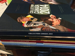 Canada Post - Annual Collection Several Volumes (6) one price