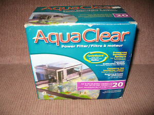 AQUA CLEAR 20 AQUARIUM FILTER NEW IN BOX