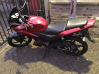 Honda cbf125 2013 reg ,7000 miles,very good condition
