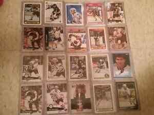 13 Ray Bourque Cards and 7 Cam Neely Cards
