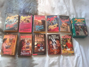 R.L. Stine Fearstreet novels and Christopher Pike novels lot