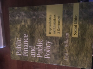 Public Finance and Public Policy: second edition