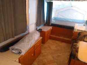 2008 flagstaff 28' tent camping trailer