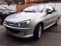 Peugeot 206cc Convertible 1.6 Excellent Car