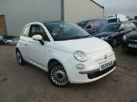 FIAT 500 LOUNGE 1.2 PETROL LOW MILES FULL HISTORY