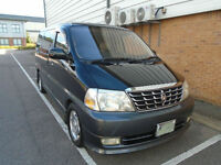 TOYOTA GRAND HIACE LIMITED PRESTIGE EDITION UK STOCK FINANCE AVAILABLE